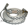 simple cotton lunging line 28mm / 8,5 mtr. F.R.A. pardi